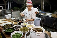 Cooks at Lageur Resort Sanya Beach, Hainan Island