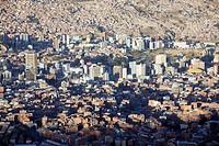 View of La Paz, Bolivia