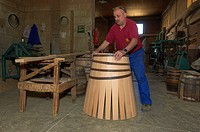 Manuel Cabello Marquez Cooperage, barrel production, Montilla, Montilla_Moriles, Province of Cordoba, Andalusia, Spain