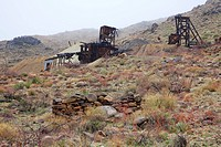 Old mining structures