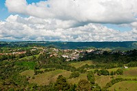 Landscape of Salento, Quindio, Armenia, Colombia