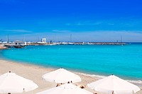 Ibiza Santa Eulalia del Rio turquoise beach