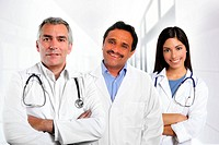 doctors multiracial expertise indian caucasian latin