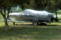 Ski Boat covered, Douglas Lake, East Tennessee, JW_044_005_05