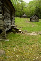 Jim Bales Place, Motor Nature Trail, Great Smoky Mountains National Park, TN, USA