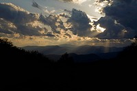 Clouds at Sunset, Balsam Mountain Area, Great Smoky Mountains National Park, NC
