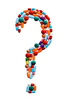 Pharmaceuticals forming question mark