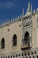 Italy, the doge's palace in Venice