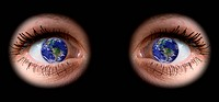 All the world in woman eye