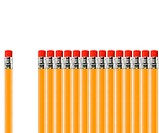 pencil out of row