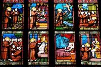 France, the Guerande church in Loire Atlantique