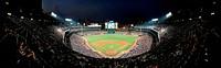 Panorama of Turner Field, Atlanta, Georgia. Home of baseball´s Atlanta Braves.