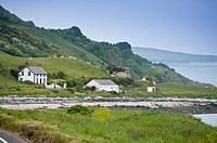 Seaside drive, Coast Road, County Antrim, Northern Ireland