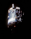 Damaged Apollo 13 Service Module is Let Loose to Drift