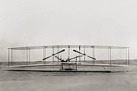 Front View of Wright Flyer