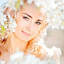 Spring bride portrait
