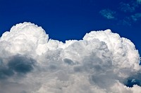 beautiful cumulus clouds
