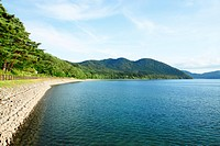 lake Tazawa in summer