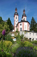 Monastery of Oberzell, Zell/Main, view from East