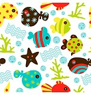 Under Water Fun Pattern