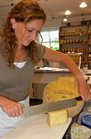 Bockshornklee Cheese in Isny,Allgaeu, Bavaria, Germany