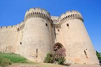 Fort Saint Andre, Villeneuve les Avignon, Gard, Languedoc_Roussillon, Southern France