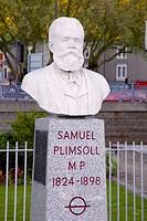 Samuel Plimsoll bust, Bristol