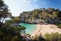 Spain, Menorca, Cala Macarelleta