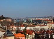 View over Prague