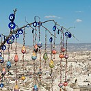 Colourful Handiwork Hanging On Display, Nevsehir Turkey