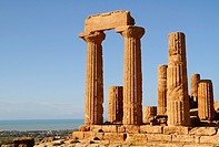 Temple of Juno Hera, Valley of the Temples, Agrigento, Sicily, Italy