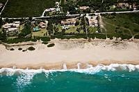 Playa de los Alemanes. Zahara de los Atunes. Cádiz area. Spain Aerial view