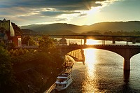 Market Street Bridge, Chattanooga, Tennessee, United States of America, North America