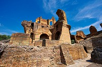 YL2-1887187 Hadrian s Villa Villa Adriana built during the second and third decades of the 2nd century AD Tivoli Italy A UNESCO World Heritage Site