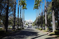 Palacio do Governo Palace of the Government, Praca da Liberdade, Belo Horizonte, Minas Gerais, Brazil, South America
