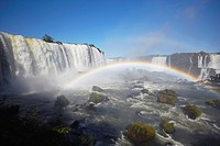 Iguacu Falls, Iguacu National Park, UNESCO World Heritage Site, Parana, Brazil, South America