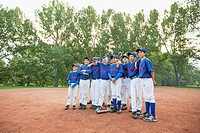 Team photo of boys baseball team (thumbnail)