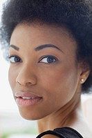 Portrait of beautiful African American mid_adult woman