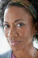 Portrait of middle_aged African American woman
