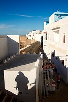 Morocco, Asilah, Shadow, Sunset