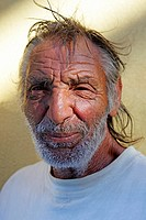 Portrait of a Man in Filicudi, Aeolian Islands, Sicily, Italy