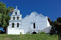 Mission San Diego de Alcala in San Diego, California, USA