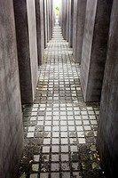 Holocaust Memorial, Memorial to the Murdered Jews of Europe, by Peter Eisenmann, Berlin, Germany, Europe