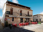 One of the restaurants in the town of Alarcón, Cuenca, Castilla La Macnha, Spain
