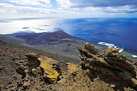 canary islands, la palma : volcano san antonio