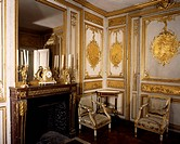 Louis XV's toilette, Palace of Versailles (UNESCO World Heritage List, 1979). France, 18th century.