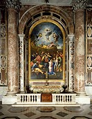 Mosaic depicting the Transfiguration, from an original by Raphael 1598_1680, St Peter´s Basilica, Rome. Vatican City, 17th century.