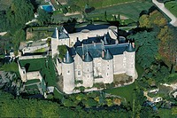Chateau de Luynes. France, 16th century, Loire Valley (UNESCO World Heritage List, 2000). France.