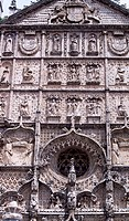 Facade of the Convent of San Pablo Church, by Simon de Colonia (ca 1445-ca 1511), Valladolid, Castile and Leon. Spain, 15th century.