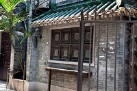 Preserved architecture at heritage street at Xiguan, Guangzhou, China